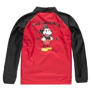 Vans Disney Mickey Torrey Coach Jacket